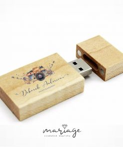 revené USB pre fotografov s potlačou loga